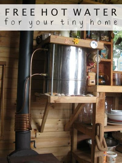 hot water   tiny home diy alternative energy