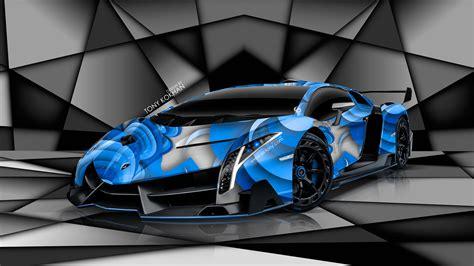 lamborghini veneno blue lamborghini veneno super aerography car 2014 el tony