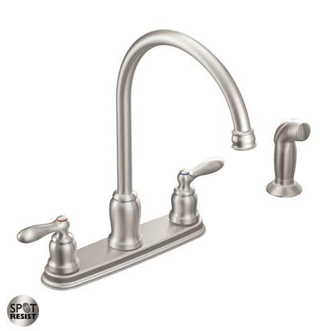 moen faucet directcom moen ca87060srs spot resist stainless high arc kitchen