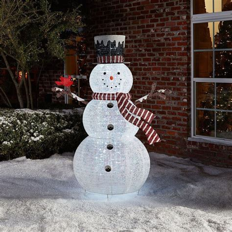 outdoor christmas decoration pop  snowman holiday yard