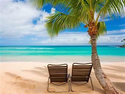 Wallpapers Summer Beach Natural Desktop Beaches Chairs