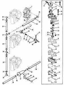 Mercury Marine 115 Hp  6 Cylinder  Fuel Pump  U0026 Fuel Lines