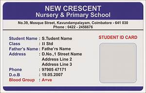 template galleries nursery school id card templates With school id cards template