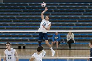 Men's volleyball season ends with four-set loss to UC ...