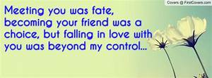 Meeting You Was Fate Quotes. QuotesGram