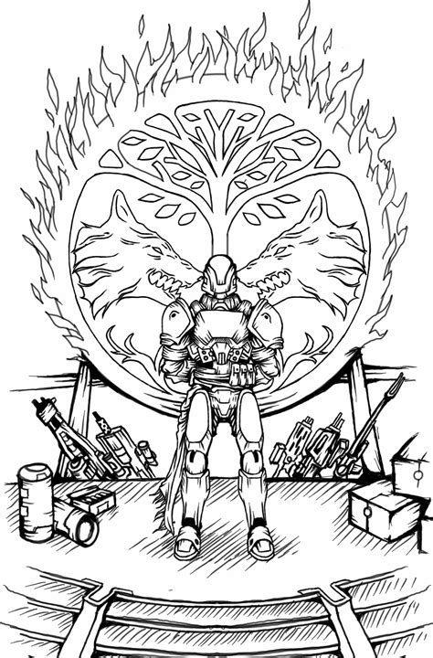 destiny coloring pages coloring home