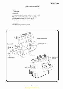 Janome 7318 Magnolia Sewing Machine Service