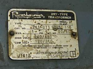 Jefferson Transformer Wiring Diagram