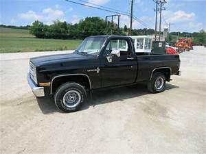 1986 Chevrolet C10 Custom Deluxe 4x4 Pick Up Truck  V