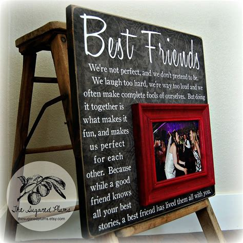 idea for best friends best friend gift gift bridesmaid gift girlfriends Gift