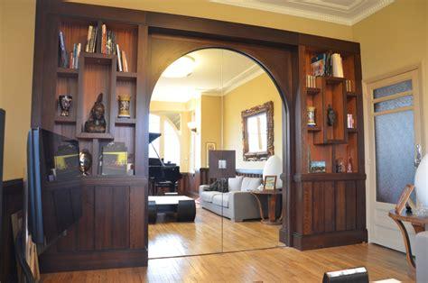 rideaux salle a manger salon cr 233 ation d une s 233 paration salon et salle 224 manger atelier philippe allemand