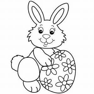 Oeuf Paques Dessin : coloriage oeuf et lapin de paques 1001 animaux ~ Melissatoandfro.com Idées de Décoration