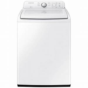 Samsung 4 0 Cu  Ft  Top Load Washer In White  Non Energy Star-wa40j3000aw