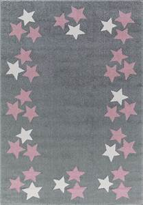 Rosa Grau Teppich : teppich mit sternen bord re grau rosa weiss ~ Markanthonyermac.com Haus und Dekorationen