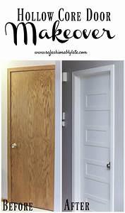 Hollow Core Door Makeover