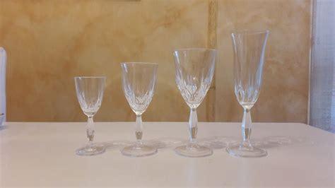 bicchieri cristallo boemia servizio di bicchieri di cristallo di boemia catawiki