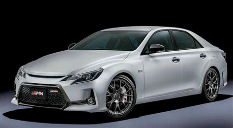 toyota mark  grmn    sporty sedan loving purists