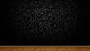 black on black wallpaper for walls clean black wall with ...