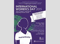 You're invited to celebrate INTERNATIONAL WOMEN'S DAY with us! Leichhardt Women's Community