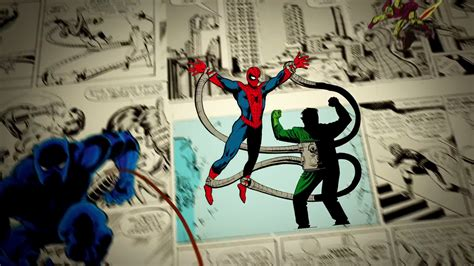 Image Spider Man Vs Doc Ock Feat Black Panther 75