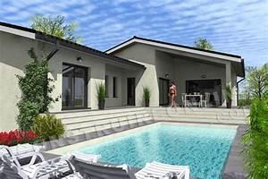Type De Sol Maison : plan de maison moderne capucine ~ Melissatoandfro.com Idées de Décoration