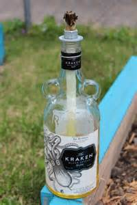 DIY Liquor Bottle Crafts