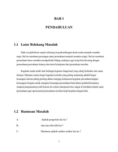 Contoh Makalah Manajemen Keuangan Pdf Awan Danny Media