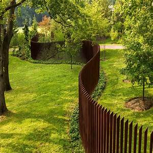 Iron, Garden, Dividers, Fence, Metal, Solid, Panels