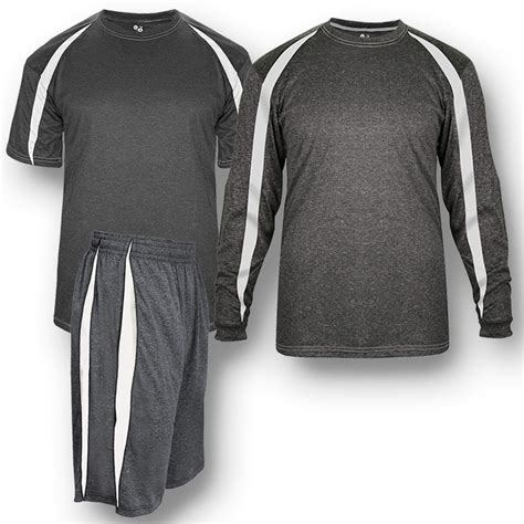 badger fusion spirit packs short sleeve  long sleeve