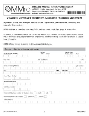 opers disability forms fillable online opers drct aps march 2012 sr 1 t april 04