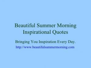 Summer Christian Quotes Quotesgram