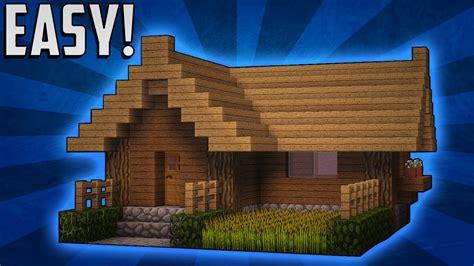 minecraft   build  small survival starter house