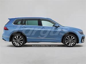 Volkswagen Tiguan 7 Places : volkswagen tiguan 2016 une v ritable famille partir de 2017 l 39 argus ~ Medecine-chirurgie-esthetiques.com Avis de Voitures