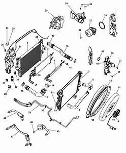 2001 Dodge Intrepid Radiator Parts
