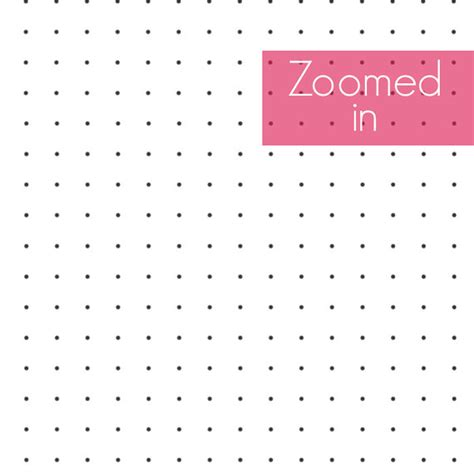 Bullet Journal Dotted Templates by Printable Dot Graph Paper Free