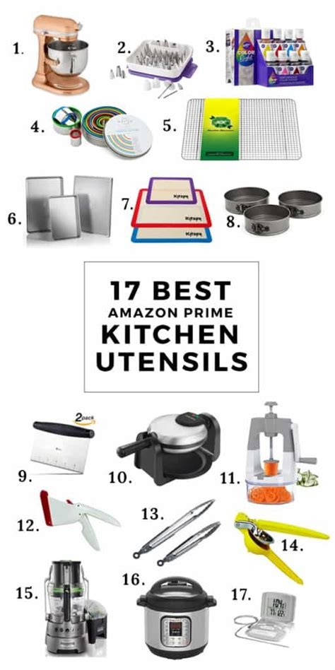 Kitchen Accessories With Names by 17 Best Prime Kitchen Utensils And Equipment The