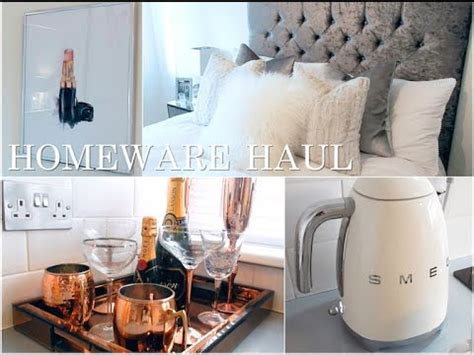 Homeware Haul  Next, Homesense, Desenio, Smeg & More