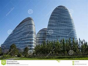 In Asia, Beijing, China, Modern Architecture, Wangjing ...