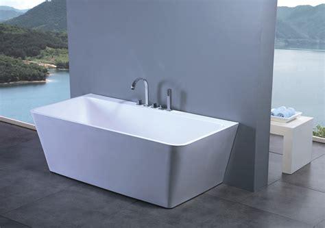 modern shower tub luciano luxury modern bathtub 63 quot