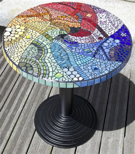 table ronde mosaique mosaics table ronde mosaique et table