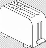 Toaster Coloring Clipart Clip Angle Area sketch template