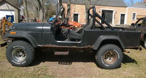 jeep scrambler for sale on craigslist 1981 jeep scrambler cj8 258 v6 auto for sale marshfield