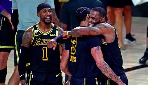 NBA - Les Lakers sacrés champions après un massacre ...