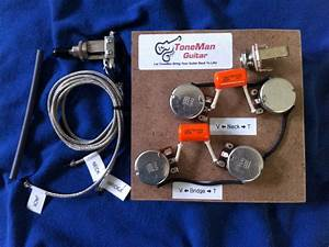 Gibson Epiphone Les Paul Prewired 50s Wiring Harness Kit