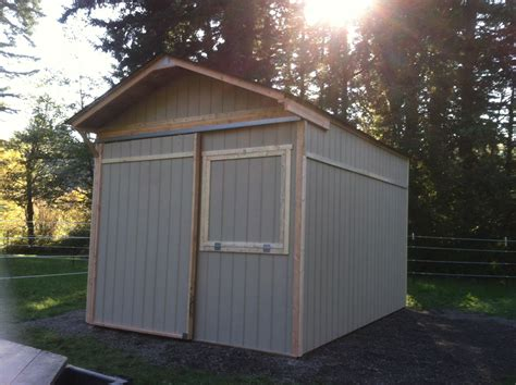 small  foot garage door  shed iimajackrussell