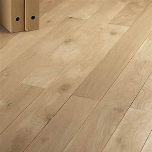 plancher massif chene noueux l200 x l14 cm ep21 mm With parquet plancher chauffant leroy merlin