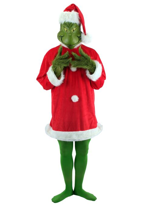 christmas grinch plus size costume holiday dr seuss
