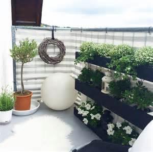 bepflanzung balkon kleinen balkon gestalten wohnkonfetti