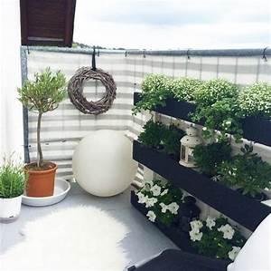 Balkon Gestalten Ideen : ehrf rchtige langer schmaler balkon gestalten haus ~ Lizthompson.info Haus und Dekorationen