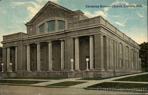 Christian Science Church Lincoln, Ne Postcard